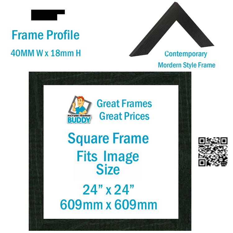 24 x24 picture photo frame picture frames buddy. Black Bedroom Furniture Sets. Home Design Ideas