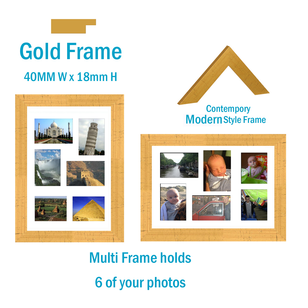 A3 multi picture frame - Picture Frames Buddy