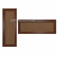 Mahogany Panoramic Picture Photo Frames