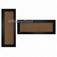 Black Panoramic Picture Frames