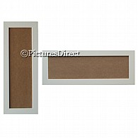 Panoramic Picture Frames Silver