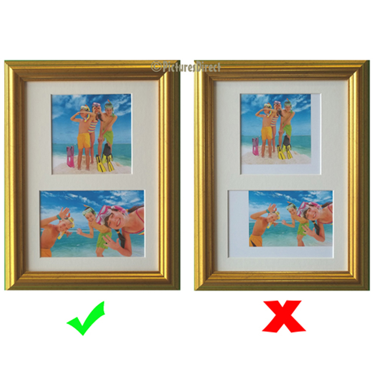 A4 Photo Collage Picture Frame Kit - Picture Frames Buddy