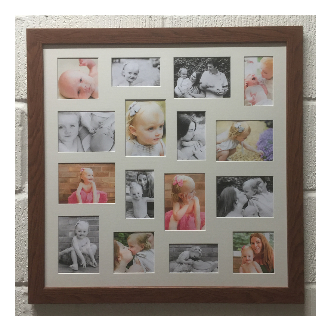 Large Multi Frame Square Picture Frames Buddy