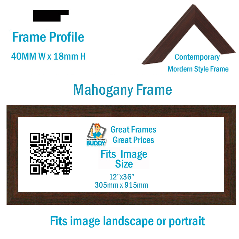 12x36 Panoramic Picture Frame Picture Frames Buddy