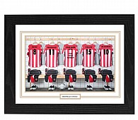Personalised Framed  Unofficial Sheffield Utd Football Shirt Photo A3
