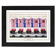 Personalised Framed 100% Unofficial Sunderland Football Shirt Photo A3