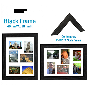 A3 multi picture photo frame