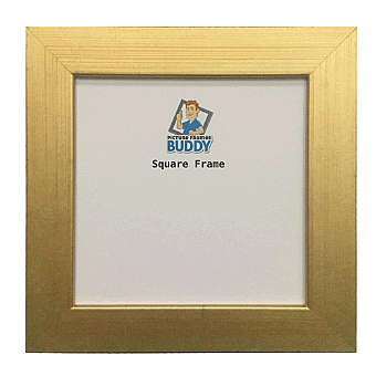 Gold Square Picture Frames