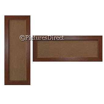 Panoramic Picture Frame Mahogany